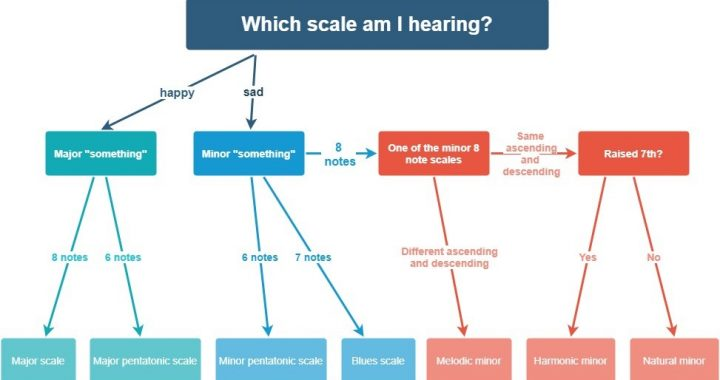 Flowchart on identifying scales